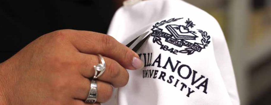 Embroidered hat for Villanova University