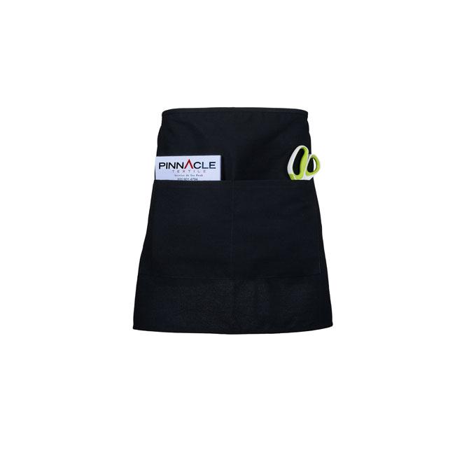 A2005-Black Spun Poly Half Bistro