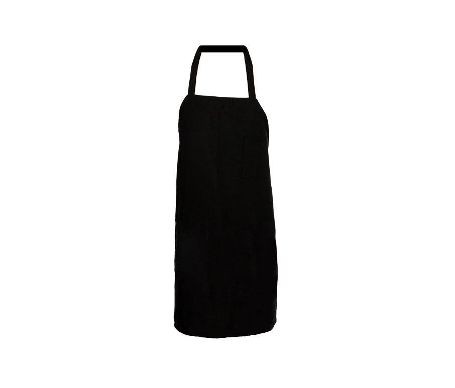 A5001-Bib Apron, Pencil Pocket, 29x33, Tubular Ties