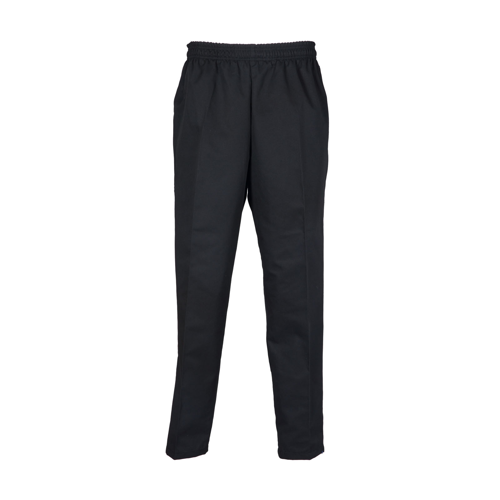 "B22 - 65/35 Poly/Cotton Blended Baggy Pants, Zipper Fly - Available in Black & ""Printed"" B/W Check"