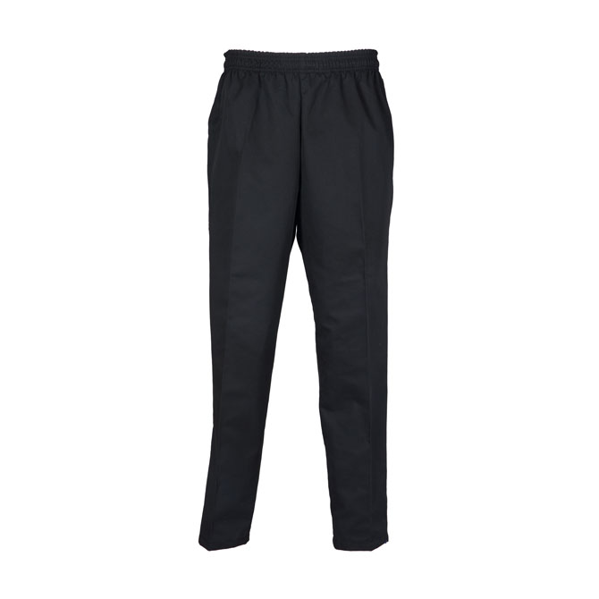 B15 - Black Baggy Chef Pants