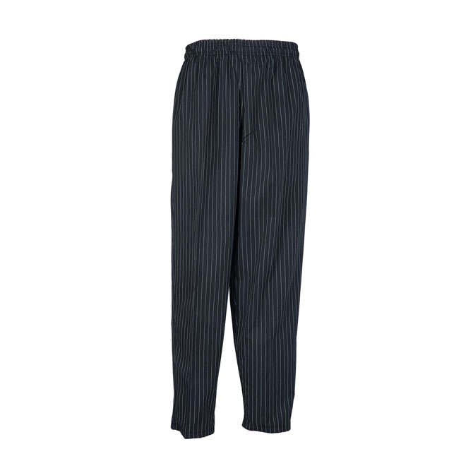 B35-Baggy Chef Pant, 2 Hip Pockets, 1 Back Pocket