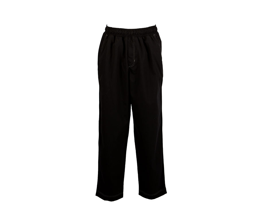 B50-Mesh Baggy Chef Pant, Welt Pockets