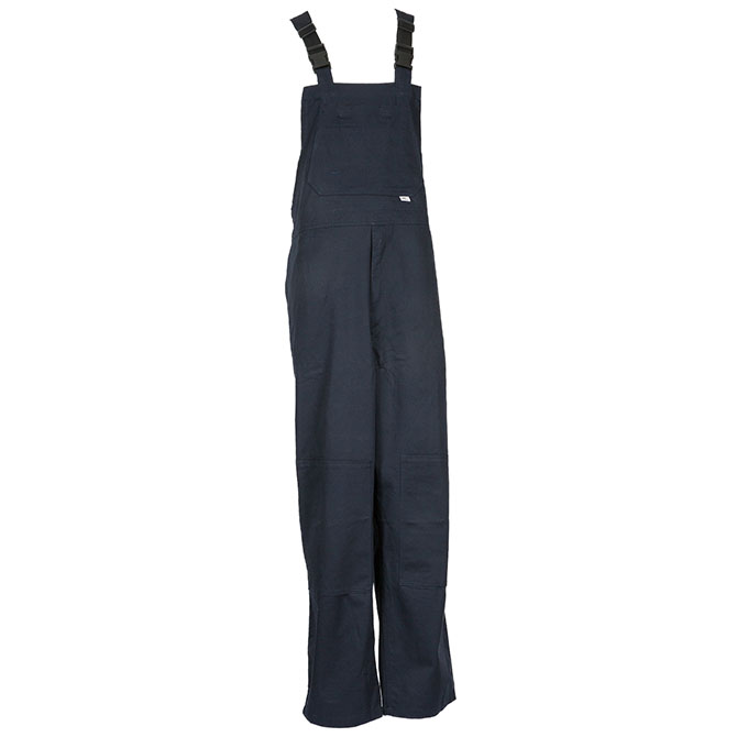 BO25-6905 (NV) PeakFR 88/12 Cotton/Nylon Blend Flame Resistant Unlined Bib Front Overall