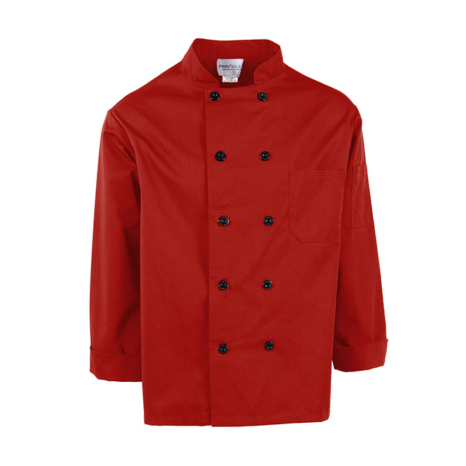 C310-Chef Coat, Full Sleeves, 10 Buttons, Spun Poly
