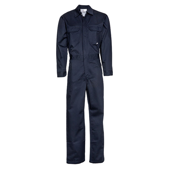 CC02-22705 (NV) 88/12 Cotton/Nylon Blend Flame Resistant Lightweight Economy Coverall