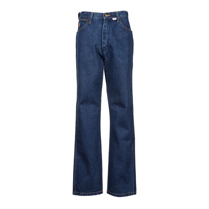 CJ01 (Denim) 100% Cotton Flame Resistant Denim Work Jean
