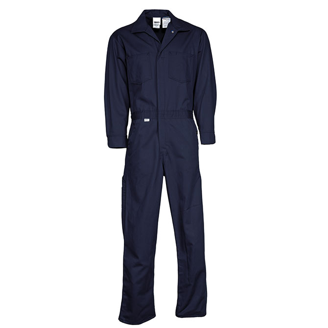 CO25-3805 (NV) Deluxe 9 ounce UltraSoft by Westex 88/12 Cotton/Nylon Blend FR Coverall