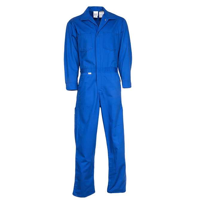 CO25-3815 (RYL) Deluxe 9 ounce UltraSoft by Westex 88/12 Cotton/Nylon Blend Flame Resistant Coverall