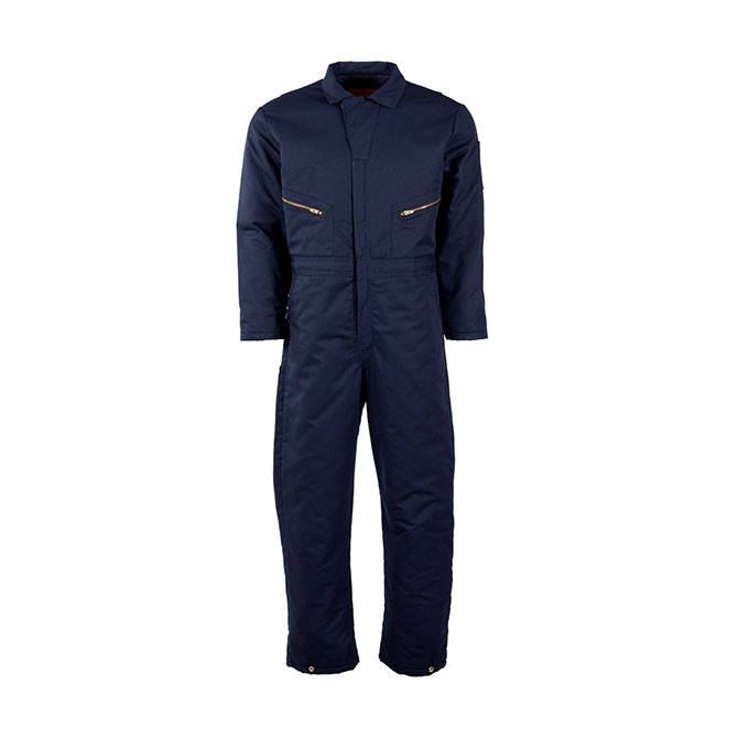 CV30-Coverall, Insulated, Blend, 2 Way Zipper