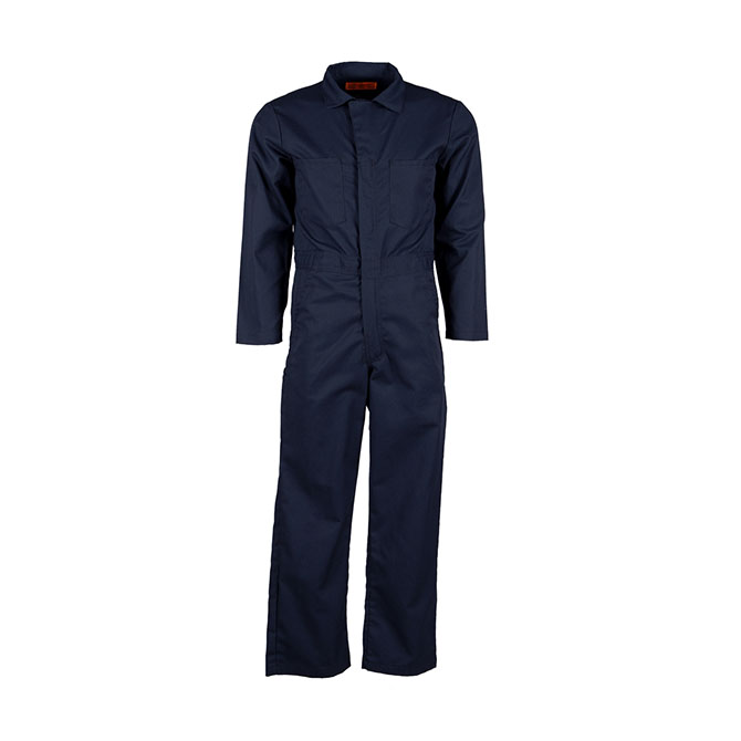 CV40-Coverall, Combed USA Cotton, 2 Way Zipper