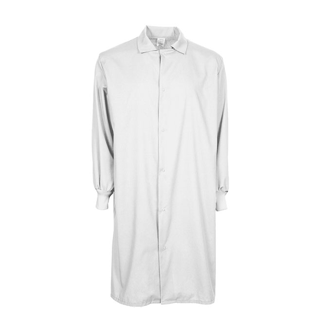 F182B - Level 1 Cover Gown, Long Sleeve, Gripper Font, No Pockets, Knit Cuffs