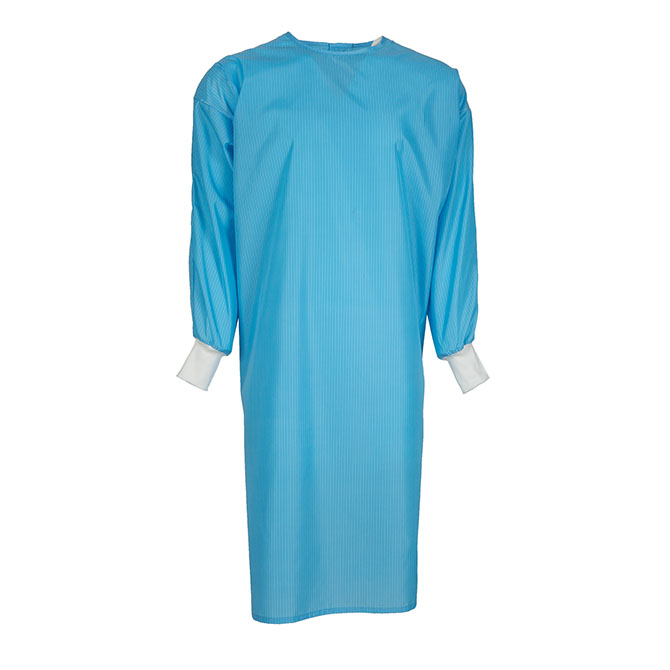 ISO4758 - Reusable Isolation Gown, 99% Polyester/1% Fiber
