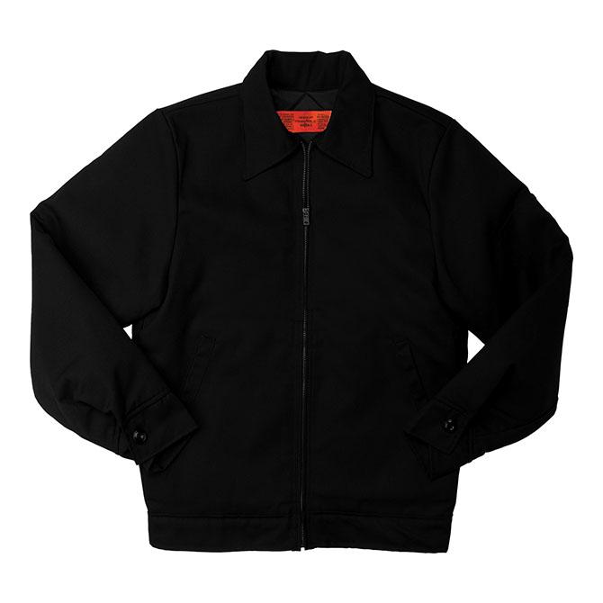 JL12-BL 65/35 Men's Lined Slash Pocket Jacket