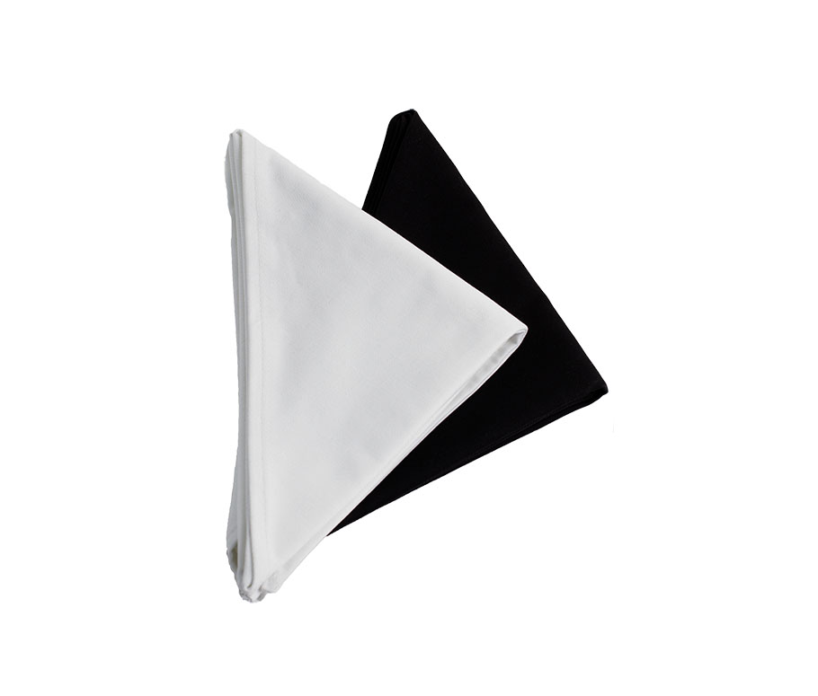 X450-Chef Neckerchief, Cotton, 24x48