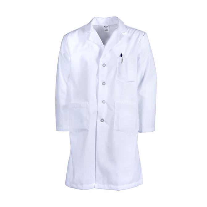 L17M-Men's Lab Coat, Button Front, Blend
