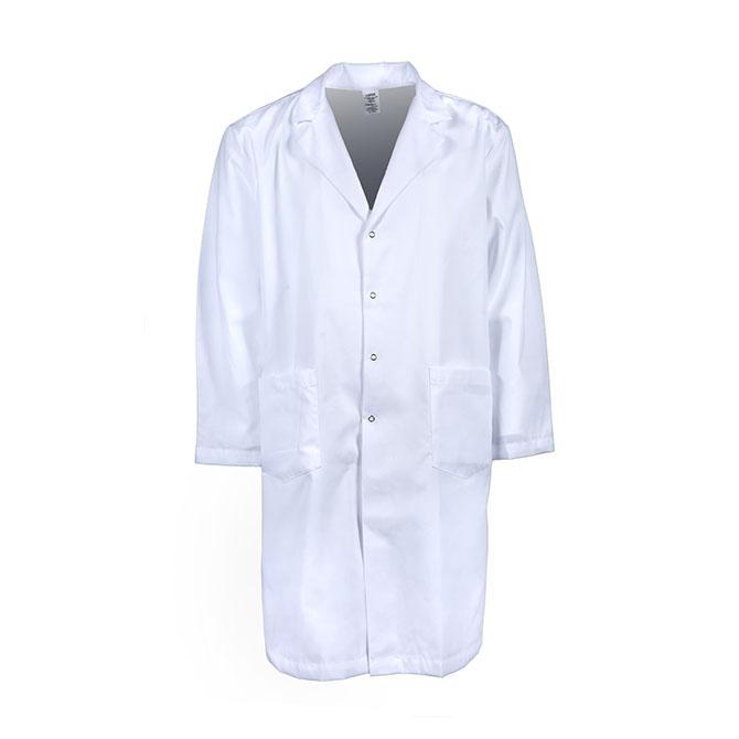 L18M-Men's Lab Coat, Gripper Snap Front, Blend
