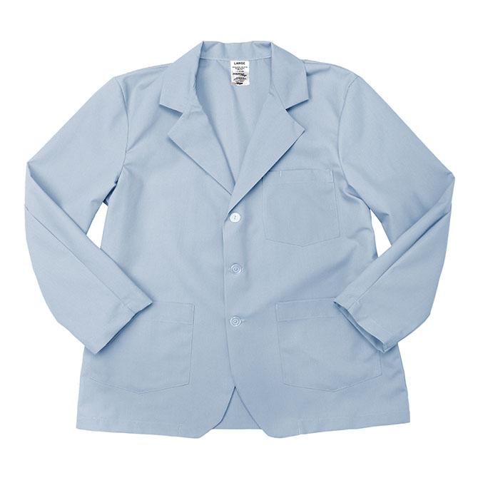 LC18LB-Lapel Coat, Full Sleeves, Poplin, 3 Buttons