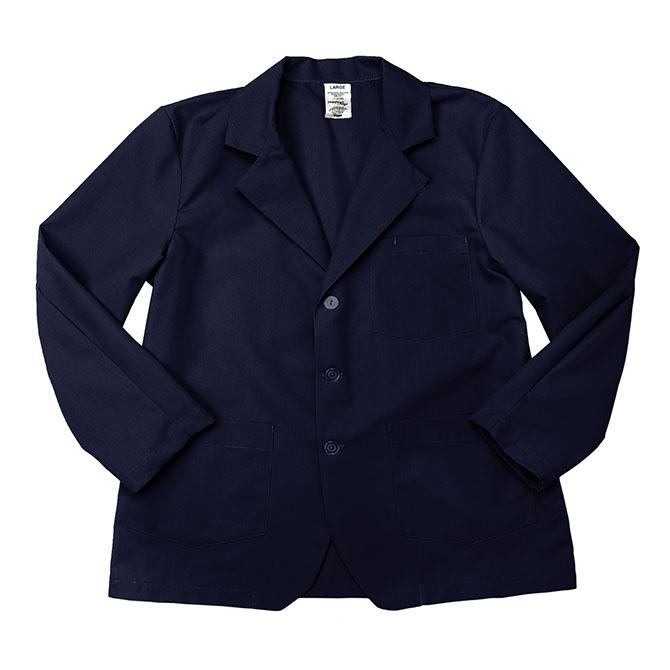 LC18NB-Lapel Coat, Full Sleeves, Poplin, 3 Buttons