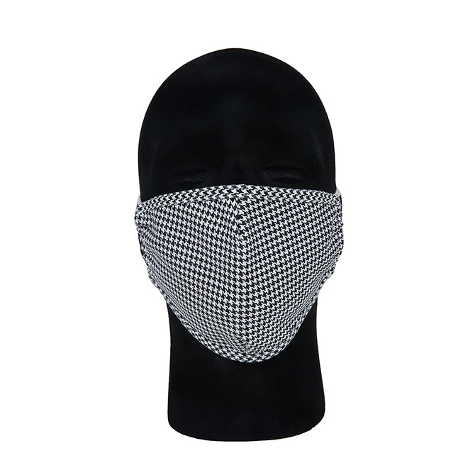MK01 - 100% Poly Poplin Protective Face Mask with Elastic Straps