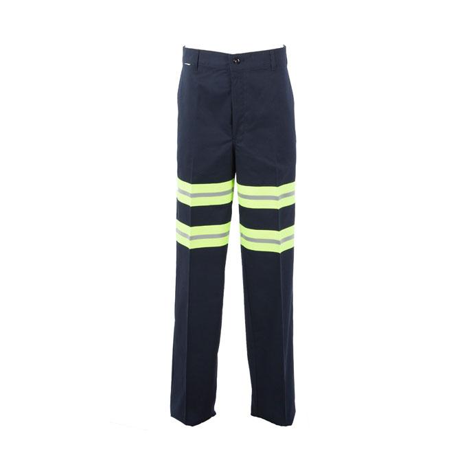 P20EN - Enhanced Visibility Men's Comfort Fit 65/35 Industrial Work Pant