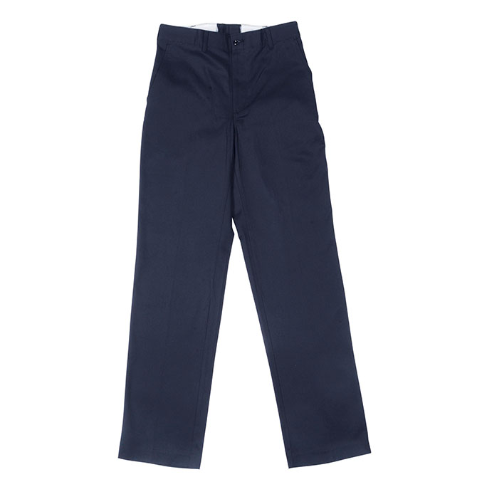 P40 Navy Blue - 100% Cotton Male Industrial Work Pant