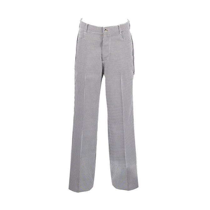P895-Female Chef Pant, Plus Blend, Welt Pockets