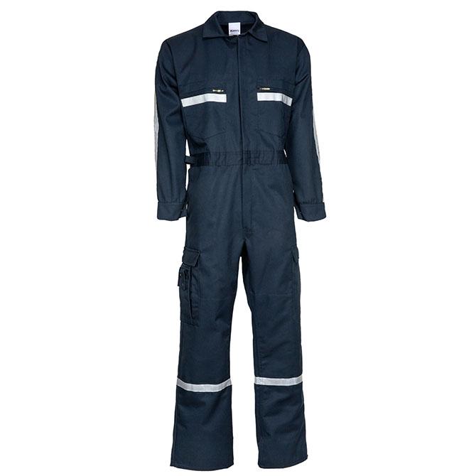PC01-1805 (NV) 65/35 Long Sleeve Over-The Clothes Fit Uniform Suit