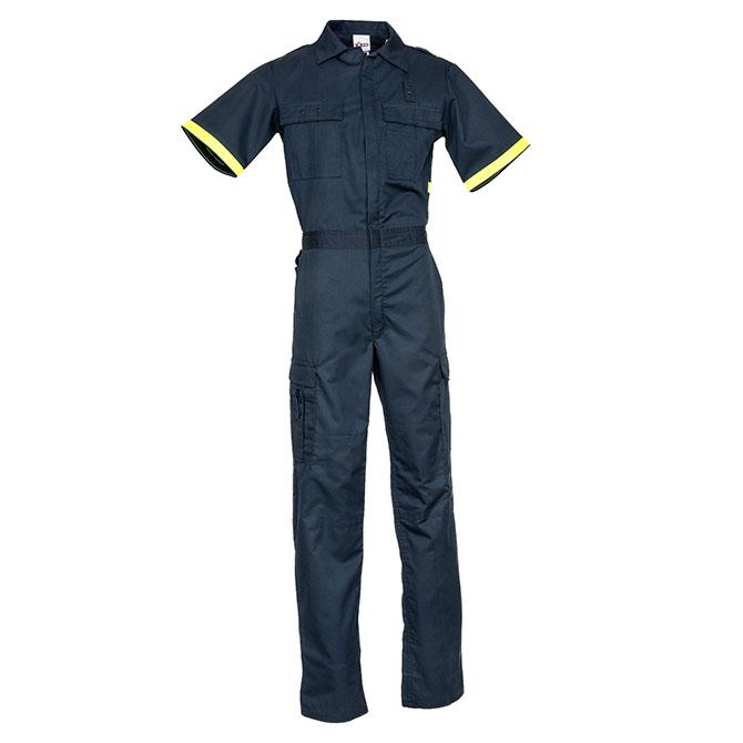 PC04-1605 (NV) 65/35 Short Sleeve Metro Style One-Piece Uniform Suit