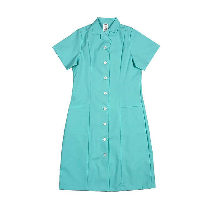 PD01AQ-Princess Dress, Button Front, Spun