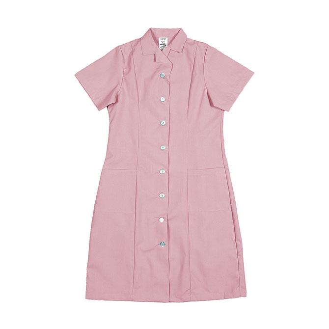 PD01PI-Princess Dress, Button Front, Spun