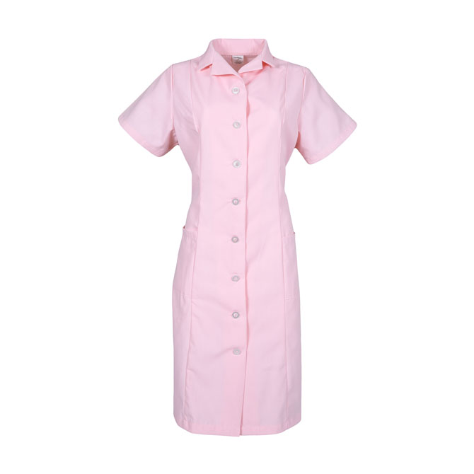 PD01PI-Princess Dress, Button Front, Spun