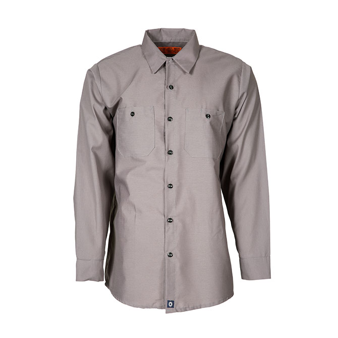 S10GG-Industrial Men's Shirt, Long Sleeves, 65/35