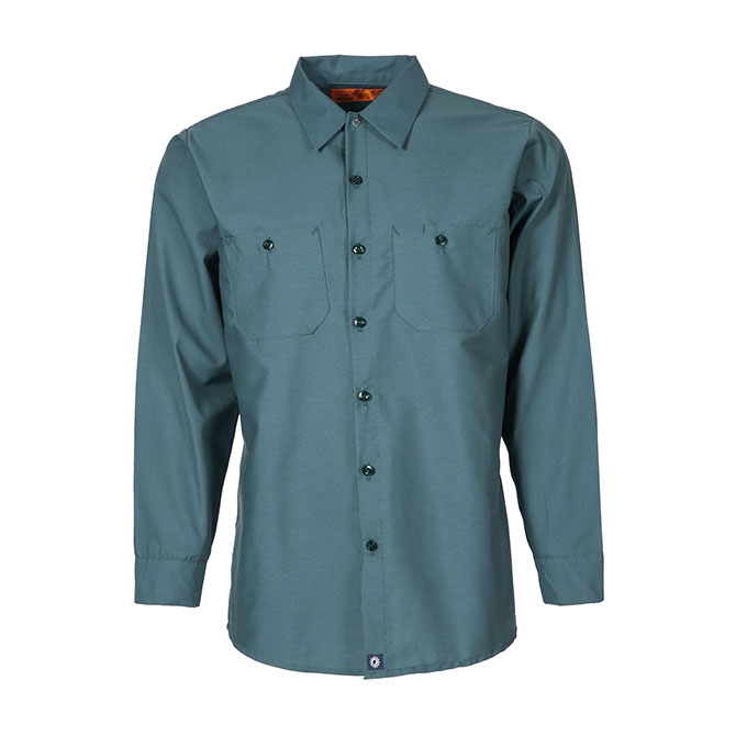 S10SP-Industrial Men's Shirt, Long Sleeves, 65/35