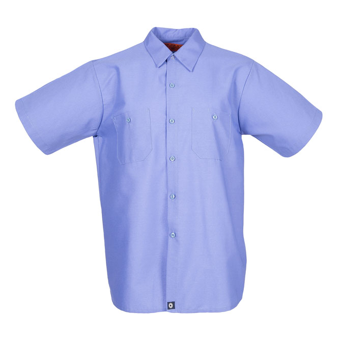 S12GB-Industrial Men's Shirt, Short Sleeves, 65/35
