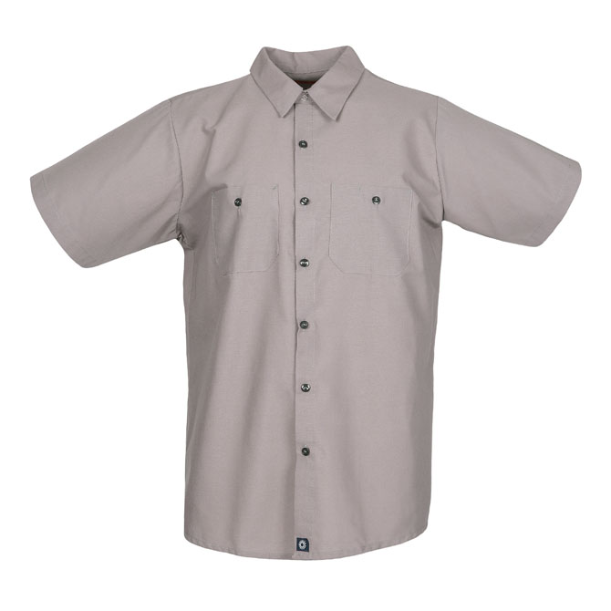 S12GG-Industrial Men's Shirt, Short Sleeves, 65/35