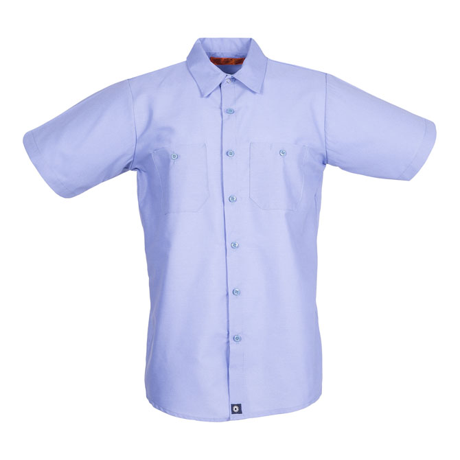S12LB-Industrial Men's Shirt, Short Sleeves, 65/35