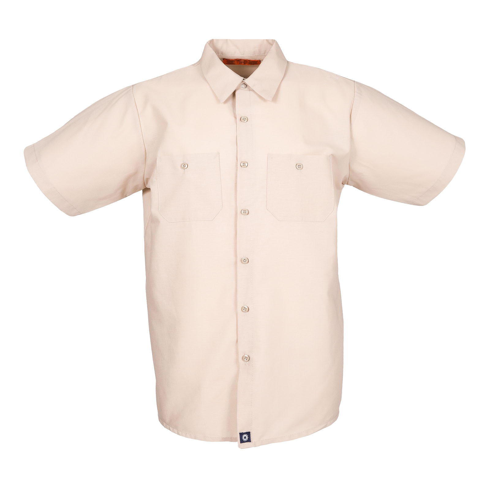 S12TA-Industrial Men's Shirt, Short Sleeves, 65/35