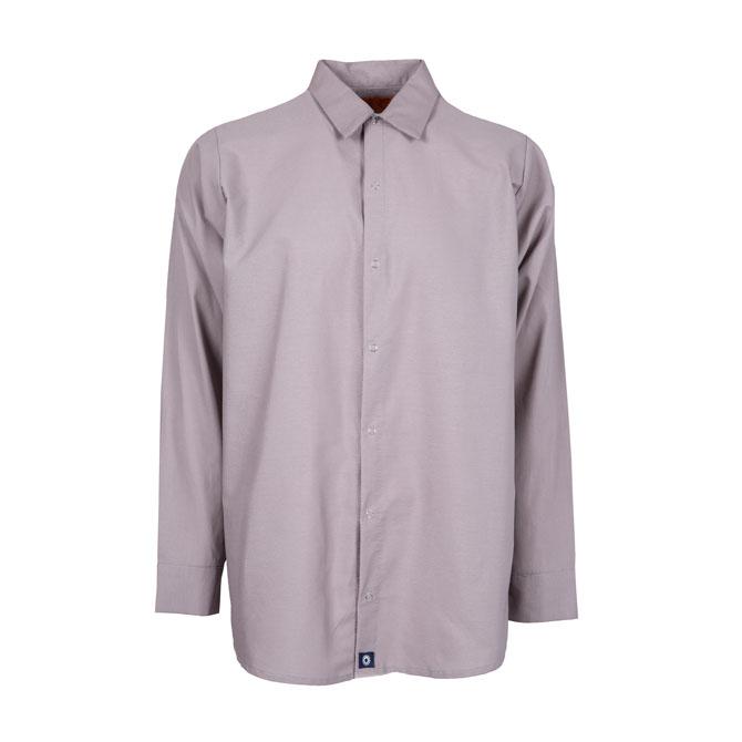 S14GG-Industrial Men's Shirt, Gripper Front, 65/35