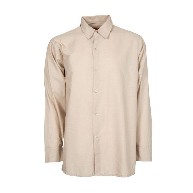 S14TA-Industrial Men's Shirt, Gripper Front, 65/35