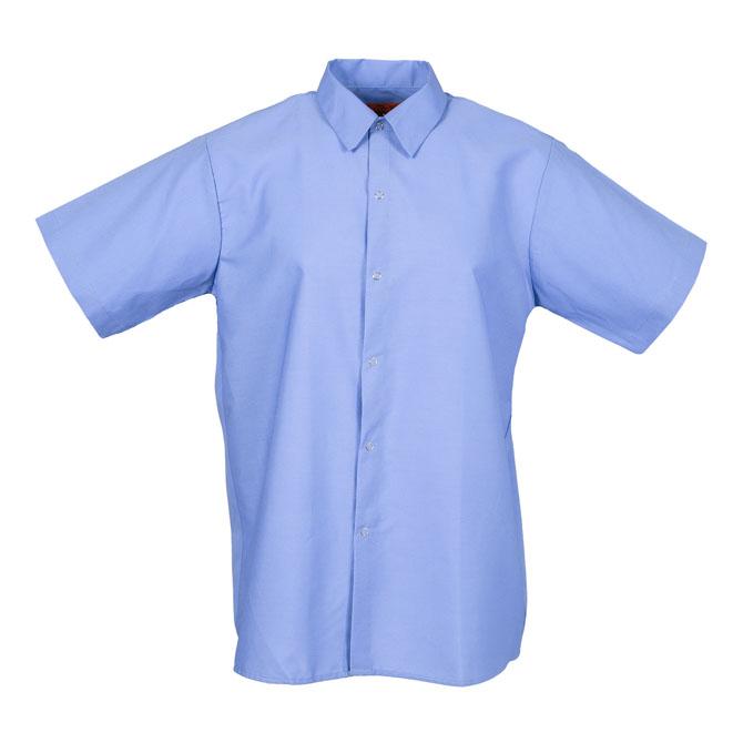 S16GB-Industrial Men's Shirt, Gripper Front, Short Sleeves