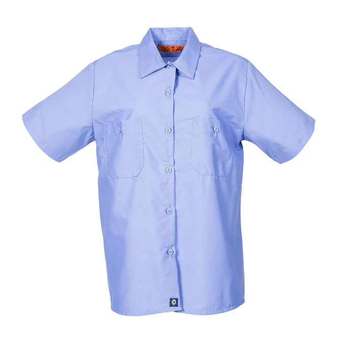 S19-Women's Industrial Shirt, Short Sleeves