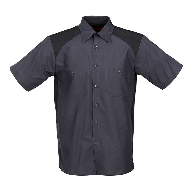 S22-Motorsport Industrial Shirt, short Sleeves