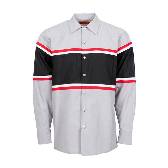S27-Technician Industrial Shirt, Long Sleeve