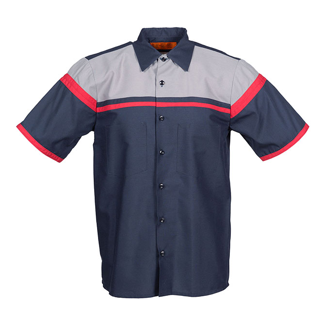 S28-Technician Industrial Shirt, Short Sleeves