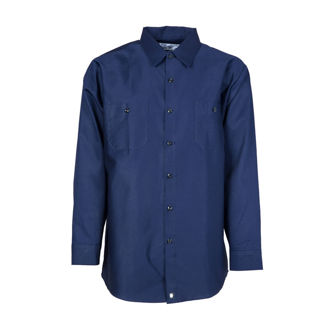 S40NB-Industrial Shirt, Cotton, Button Front