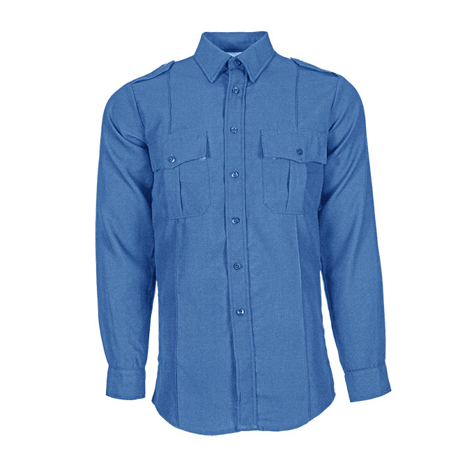 SH95-5520 (MB) Nomex Long Sleeve Flame Resistant Safety Shirt with Epaulets