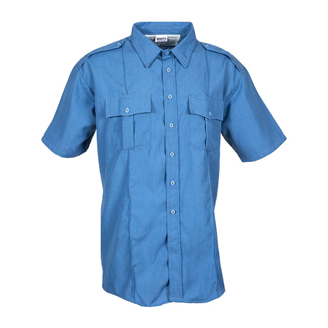 SH96-5520 (MB) Nomex Short Sleeve Flame Resistant Safety with Epaulets