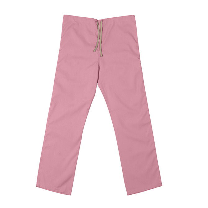 SP60U Pink - 65/35 Poly/Cotton Poplin Scrub Pant