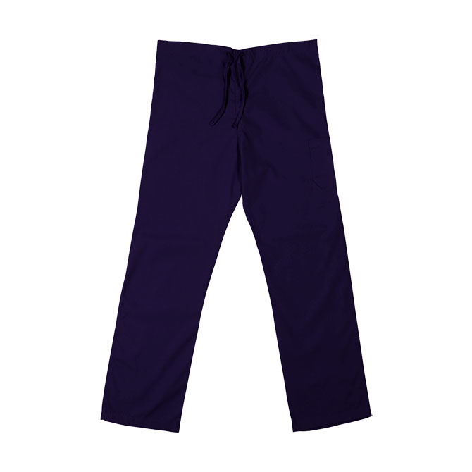 SP61U Purple - Scrub Pant, Non-Reversible, Unisex, 65/35